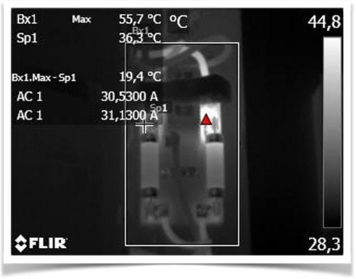 thermographie infrarouge (IR)